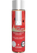 Jo H2o Flavored Water Based Lubricant Watermelon 4 Ounce