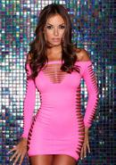 Single Lady Mini Dress - Pink
