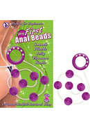 My First Anal Beads - Purple