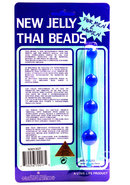 New Jelly Thai Beads - Blue