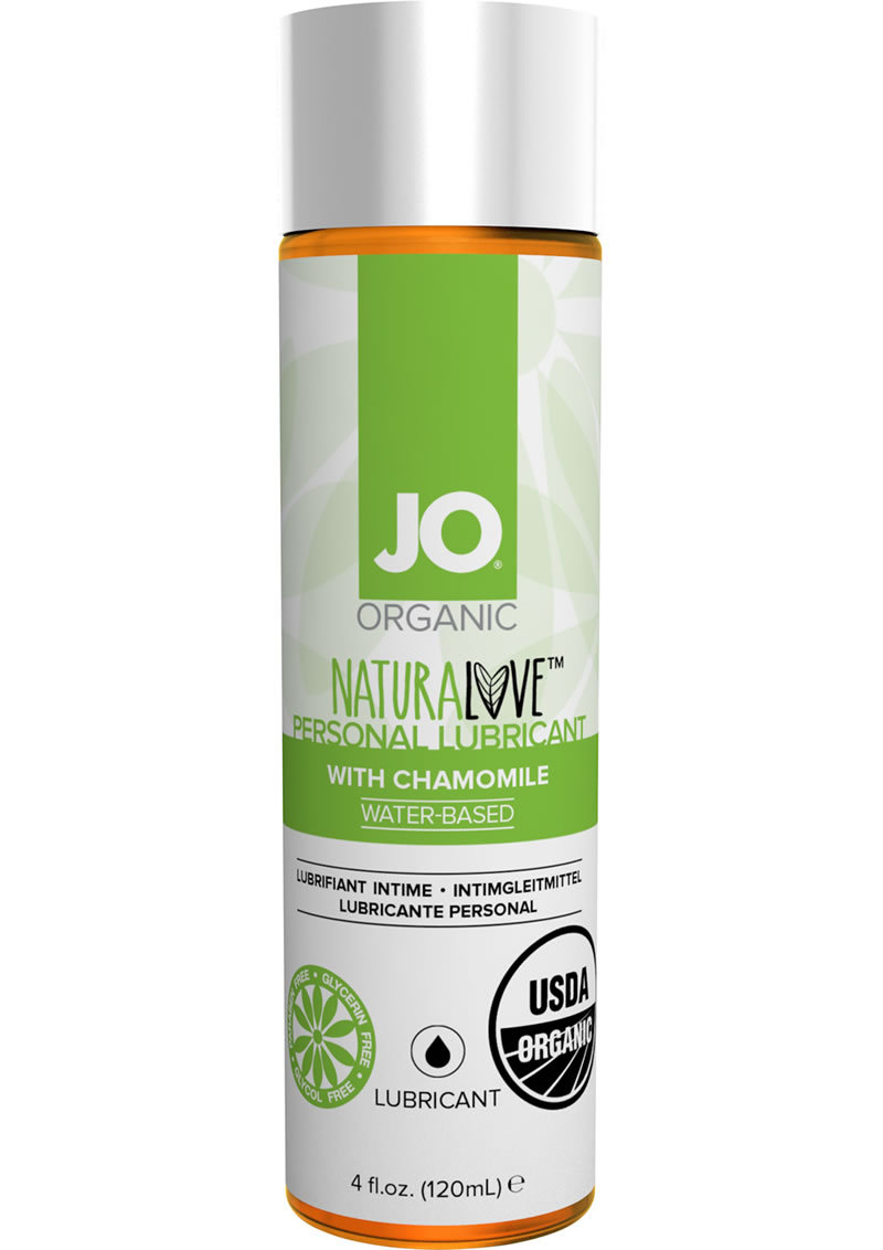 Jo Naturalove Usda Organic Water Based Lubricant With Chamomile 4oz